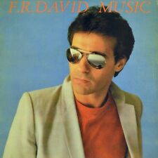 "7"" F. R. DAVID Music/givin 'it up CARRERE 45 tr/min SYNTH-POP SPAIN ESPAÑA 1983"