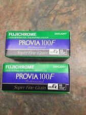 2 Rolls Fujichrome Provia 100F RDP 120 Film Refrigerated