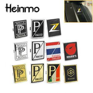 Metal Emblem Decal MID Panel Logo For PIAGGIO VESPA GTS GTV LX LXV 125 250 300