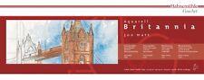 Aquarellkarton Britannia Malkarton Hahnemühle 300 g/m² Panorama Format 20 x 50cm