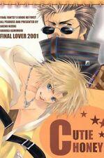 """Final Fantasy 10 X doujinshi """"Cutie Honey"""" Auron x Tidus"""