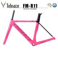 700C Carbon OEM Road Bike Frames BSA Racing Cycling Bicycle Frameset Aero Glossy