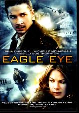 Eagle Eye (DVD, 2008, Canadian) Shia LaBeouf, Michelle Monaghan, thriller, PG-13