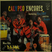 Calypso Encores LP King Eric and His Knights
