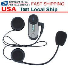 800M BT Street Bike Helmet Intercom Wireless Communication Bluetooth Interphone