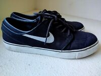 Nike Stefan Janoski Cnvs Zoom SB Black White Skateboard Shoes Mens 10 615957-028