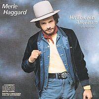 Haggard, Merle : His Epic Hits CD