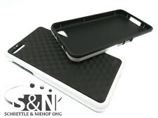 Blackberry Z10 Cover Silicone Case Cube Pouch White Black