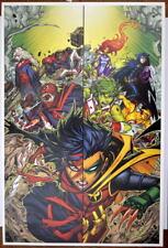TEEN TITANS Heroes v Villains Cover Print / Poster DC