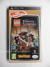 LEGO DISNEY PIRATES DES CARAIBES le jeu video sur sony PSP game spiel COMPLET