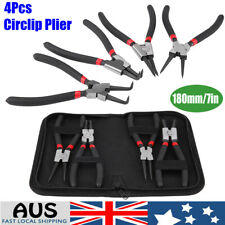 4pc Circlip Pliers Set Internal External Bent Straight Snap Ring Remove AU Tool
