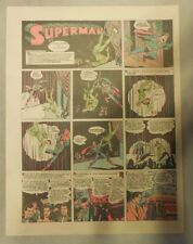 Superman Sunday Page #166 by Siegel & Shuster from 1/3/1943 Tab Page:Year #4!