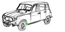 Reparaturblech - Reparaturstück für Innenkotflügel vorne links für Renault R4+R6