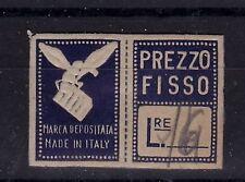 """# PICCOLA ETICHETTA PERUGINA- 1948 """"PREZZO FISSO"""" ape e tavoletta cioccolato dis"""