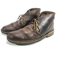 Clarks Originals Men's Desert Boot Brown Leather 26078358 Size 8 Gum Sole GUC
