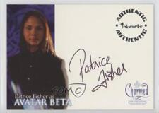 2005 Inkworks Charmed: Coversations #A-8 Patrice Fisher as Avatar Beta Auto f5l