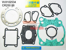 HONDA CR250 CR 250 1986 TOP END KIT GUARNIZIONI