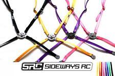SRC Sideways RC - Bucket Seat Harness Only (Steel Buckle) - RC Drift Accessories