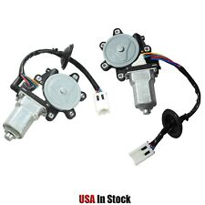 WINDOW MOTOR  FRONT LEFT & RIGHT HAND LH & RH COUPE FOR 03-07 INFINITI G35 350Z