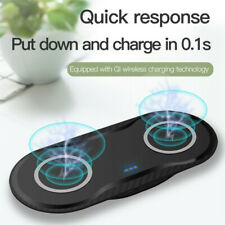 Dual Wireless Charger Dual Wireless Charging Pad 10W for iPhone 11 Galaxy S20