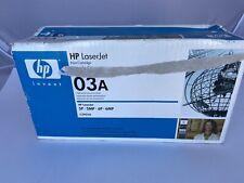 Genuine OEM HP C3903A 03A Black Print Cartridge LaserJet 5P 5MP 6P 6MP Open B