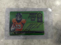 2020 Panini Elements KJ Hamler Neon Rookie On Card Auto 7/10  BRONCOS