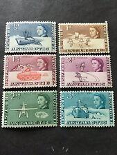 1963 British Antarctic Territory. QEII Mint Low Value Definitives.