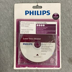 Philips Laser Lens Cleaner DVD in Case Cleans/Protects