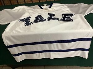Vintage Koronis #4 Rolfe Yale University Hockey Jersey NCAA