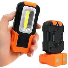 Portable LED Work Light Multi-use COB Flashlight Magnetic Base & Hanging Hook...