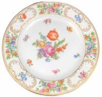 Schumann Empress Dresden Flowers Salad Plate Porcelain 7 3/4 Ref 1