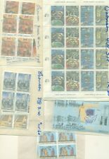 Greece 1980'S-90'S Sets & Singles Mostly In Blocks Of 4, Og, Nh, Vf Scott $1083.