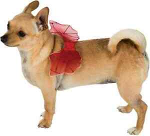 Devil Wings Satan Demon Red Cute Fancy Dress Up Halloween Pet Dog Cat Costume