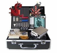 Nuovo Tatuaggi Kit completa tattoo machine kit tattooing art