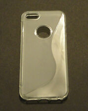 Clear S-Line TPU Soft Skin Case For Apple iPhone 5 5G