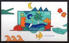 Germany - Bund - 1998 Children stamp Mi. Block 42 MNH