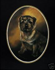 """Norfolk Terrier Classic Oval Print 16"""" X 12"""""""