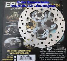 EBC MD930D Scooter Disque de frein Suzuki AN 250 Burgman,AN250,arrière,MD 930 D
