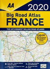 AA Big Road Atlas Map France 2020 Latest Edition (81725)