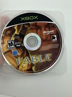 Fable 1 (2004) Black Label Original Microsoft Xbox TESTED Video Game Disc Only