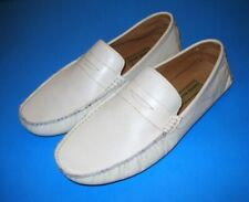 Nwob Scandia Woods 100% Cow Leather Men's Shoes Size 8M White