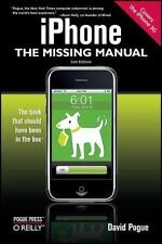 NEW - iPhone: The Missing Manual: Covers the iPhone 3G by Pogue, David