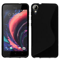 Housse Etui Coque TPU Silicone Gel S-Line pour HTC Desire 10 Lifestyle 5.5""