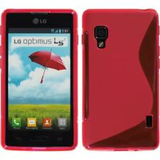 Silikon Hülle für LG Optimus L5 II pink S-Style Cover