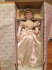 The Ashton Drake Galleries Lisa's 1990's Wedding Dress Porcelain Doll 96514