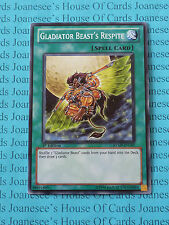 Gladiator Beast's Respite RYMP-EN107 Common Yu-Gi-Oh Card 1st Edition New