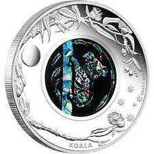 Australian 2012 $1 Opal Series - KOALA 1oz 0.999 Silver Proof - 1ST IN SERIES!