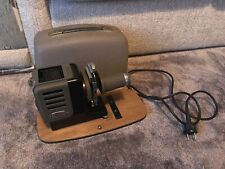 Vintage Leitz Wetzlar Leica Portable slide Projector with Lens.