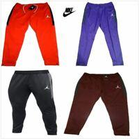 Nike Air Jordan Flight Team Men's Basketball Gym Training Pants Red Black New