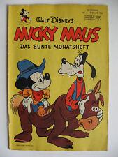 Micky Maus Nr.2, Februar 1952, original, Ehapa, Zustand 2